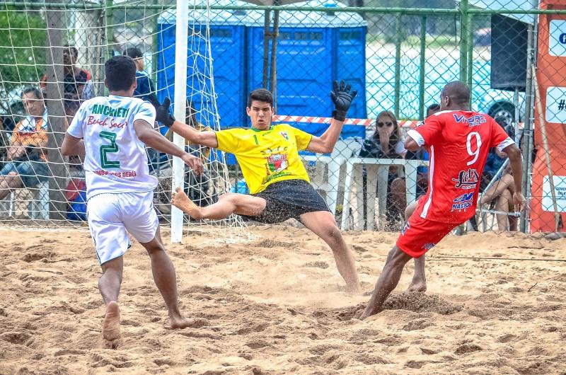 Segunda rodada do 17º Campeonato Estadual de Futebol de Areia