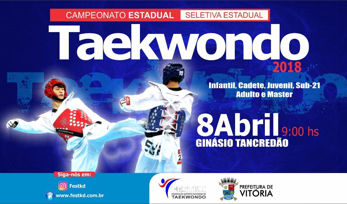 Agenda Esportiva: Tancredão vai receber Estadual de Taekwondo neste domingo
