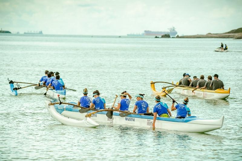 Final do Estadual de Canoa Havaiana vai agitar o mar de Vitória neste sábado