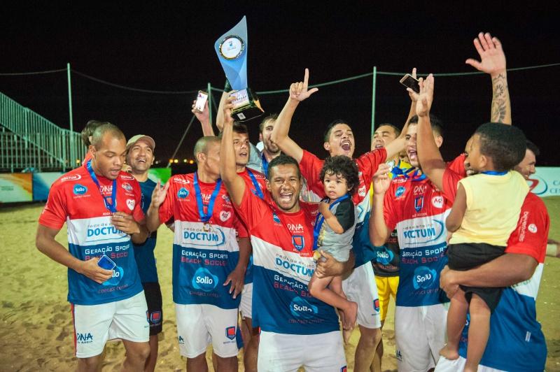 Geração Doctum vai defender o título da Copa Vitória de Futebol de Areia fef56c2b22739