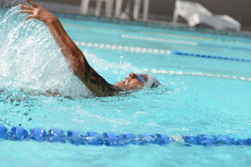 Equipe de natação paralímpica está em São Paulo para etapa do Brasileiro