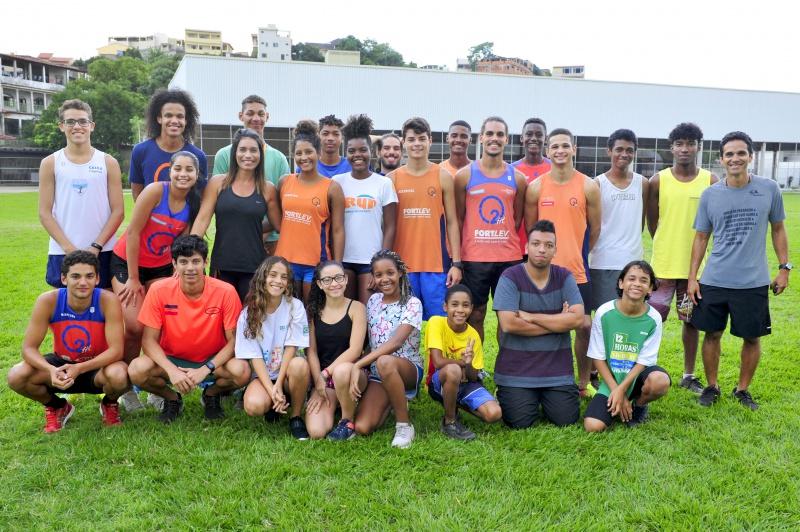 Equipe de núcleo de atletismo da capital sonha alto com Olimpíada