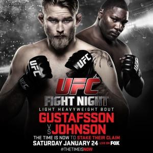 Hoje é dia de UFC : Gustafsson vs Johnson. Veja o card completo e ...