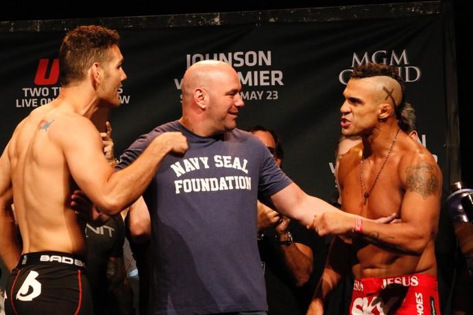 Vitor Belfort disputa o título dos médios em super evento do UFC