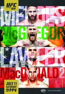 Hoje tem UFC com Super CARD e 2 disputas de cinturão. - Tribo MMA