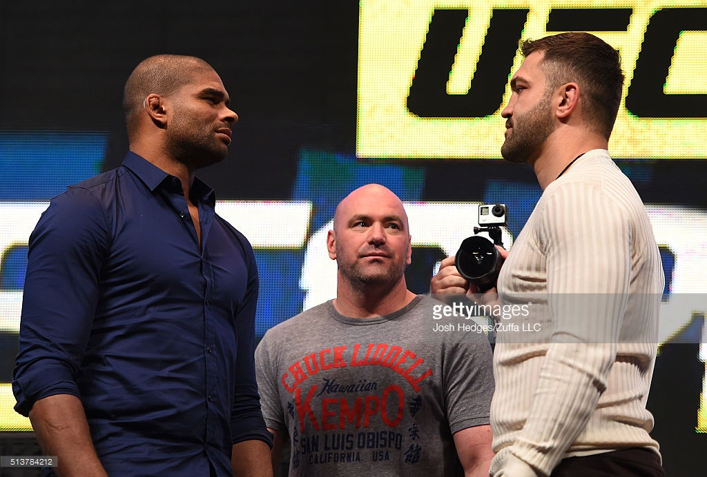 Domingo tem UFC com Pesos Pesados nas 2 lutas principais ...