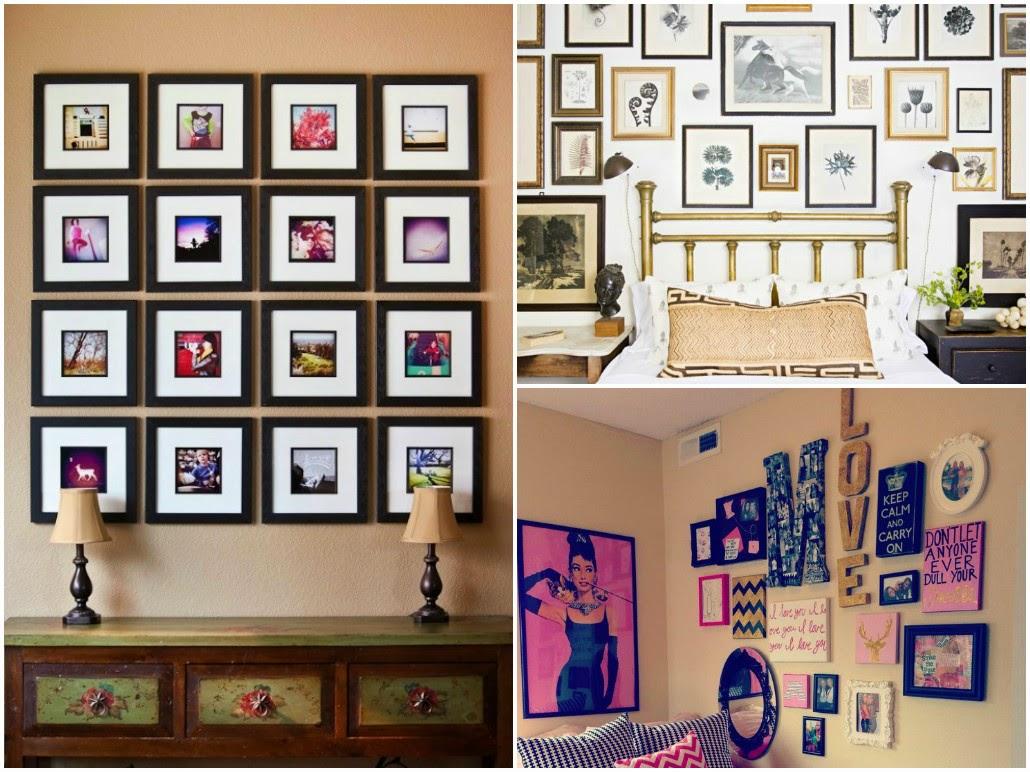 C mera do instagram fotos para decora o da casa e muito - Mural de fotos ...