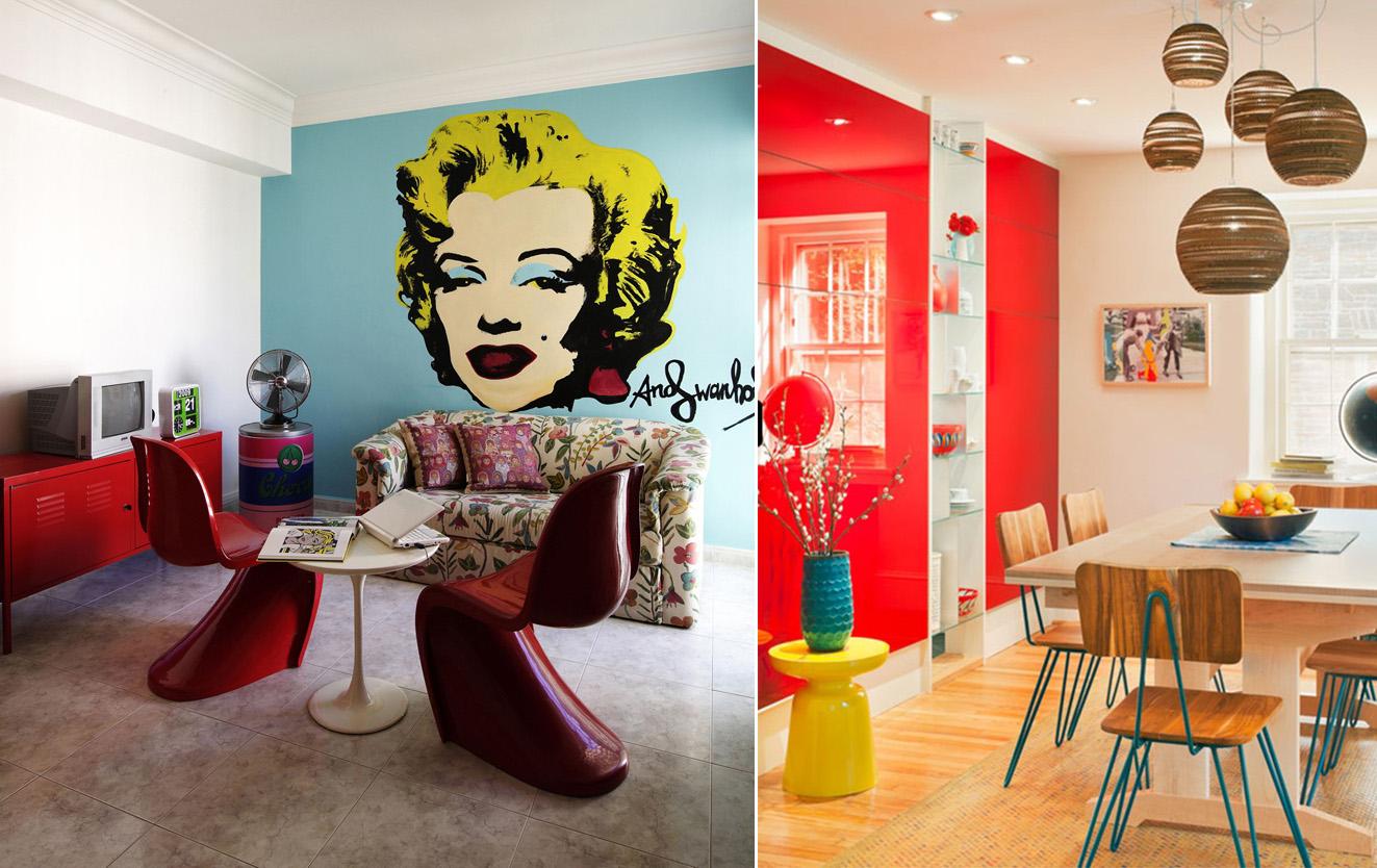 Tend ncias de decora o para 2016 art et decor - Mobiliario pop art ...
