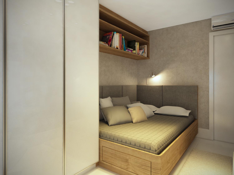 Como ampliar quartos pequenos com a decoração  Art Et Decor