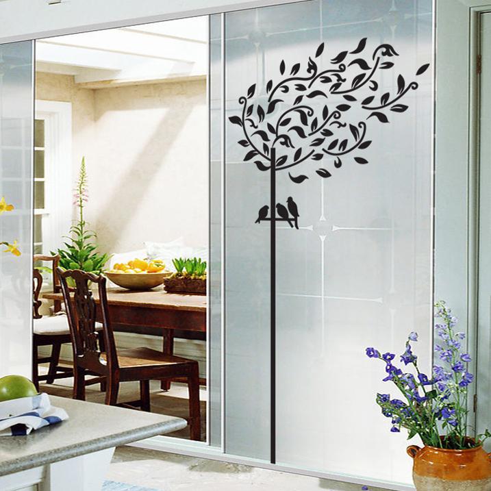 Reforma econ mica e criativa for Adesivos p porta de vidro