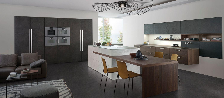 Decora o da cozinha com eletrodom sticos - Contemporary kitchen designs 2017 ...