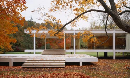Projekt: Farnsworth HouseArchitekt: Mies van der Rohe