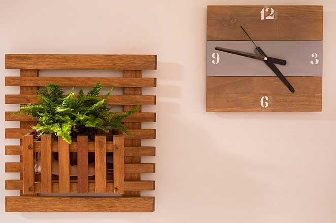 Faça Você Mesmo – relógio de madeira para presentear o papai