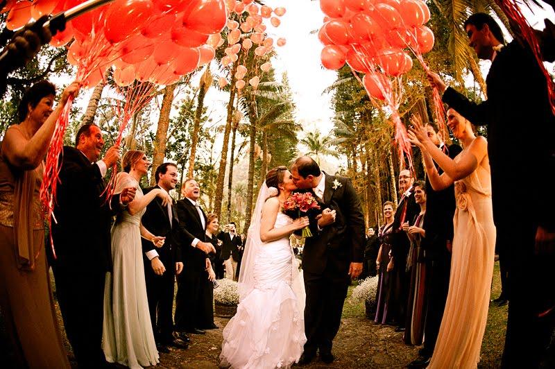 Veja como Utilizar Balões no seu Casamento E Viva Os Noivos -> Decoração Balões Casamento
