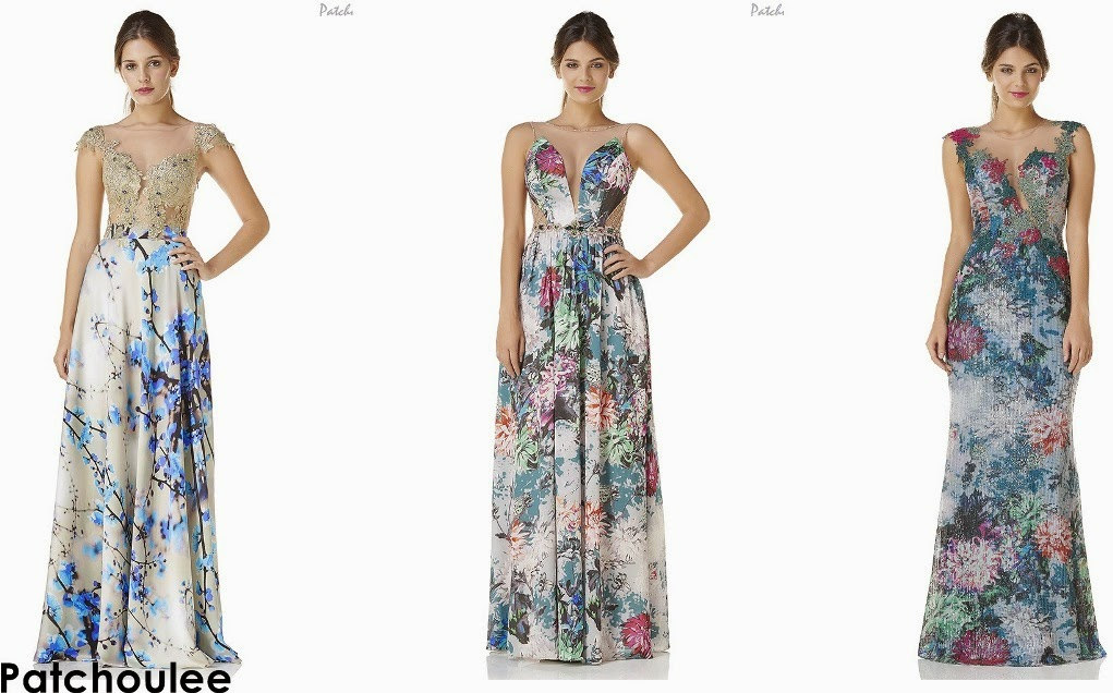 Fotos de vestidos estampados para festa