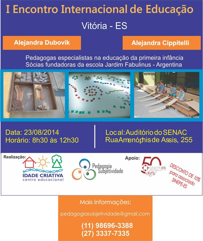 encontro internacional educação