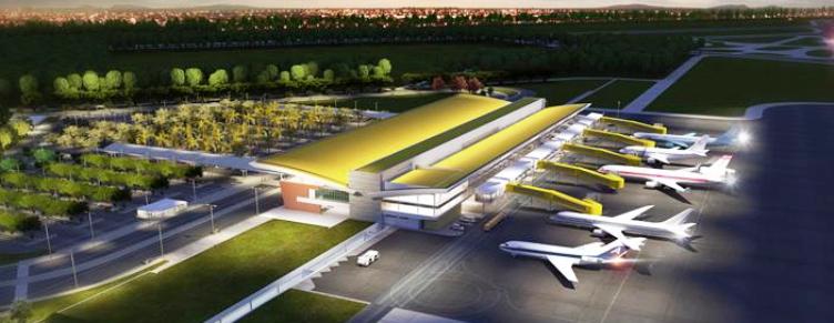 Abertas 500 vagas nas obras do aeroporto de Vitória |