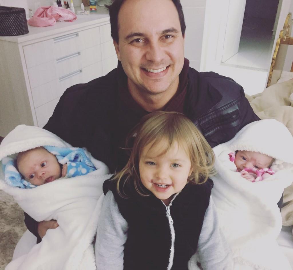 Thiago, Francisco, Caroline e Betina: muita dedicação.