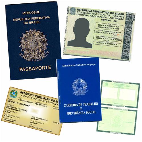 Resultado de imagem para documentos para viajar
