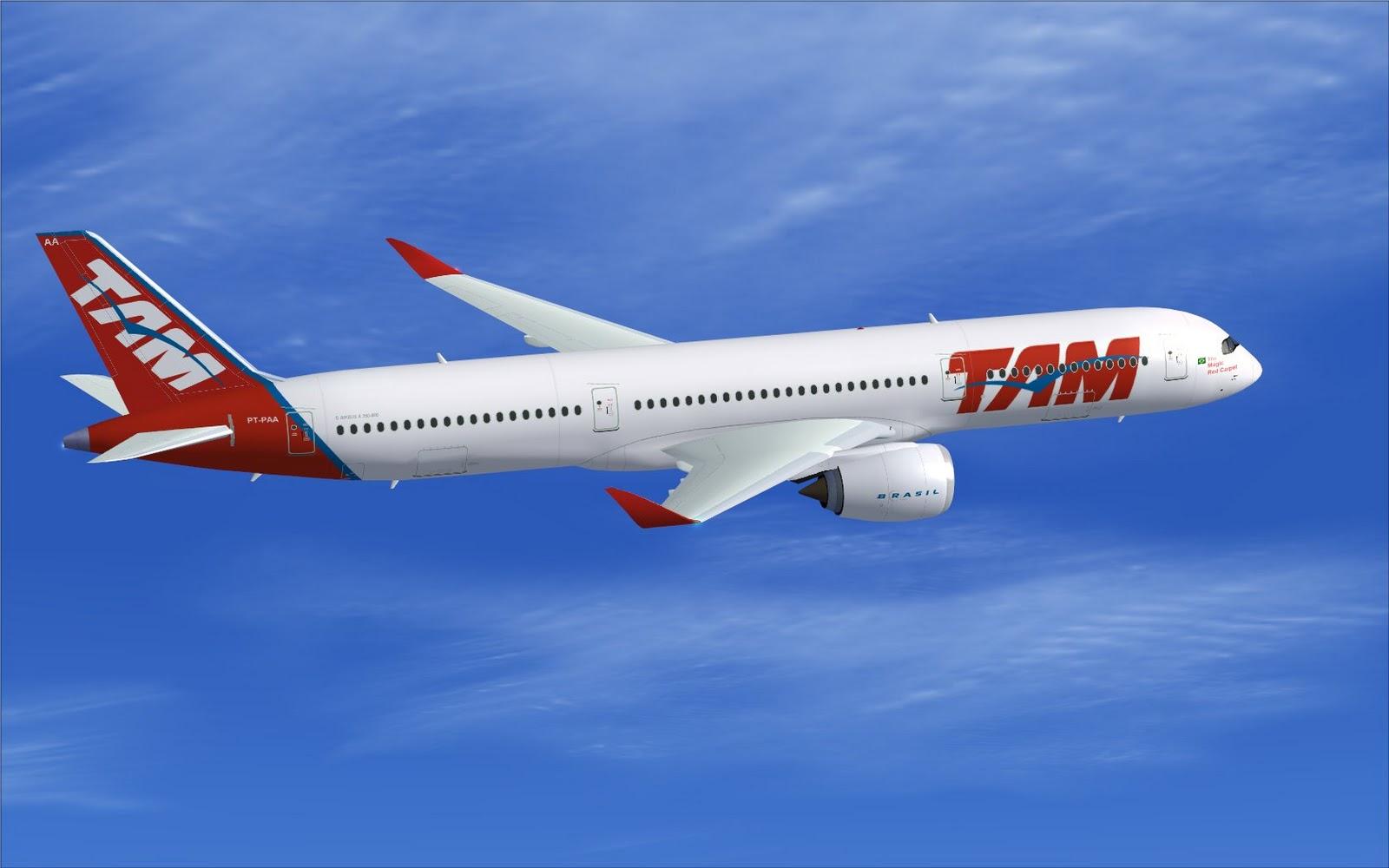 TAM vai reduzir 10% dos seus voos por causa da crise. Rota Rio ...