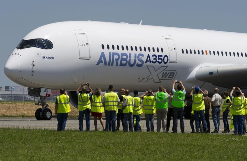 Iniciada a venda das passagens para o primeiro voo do A350-XWB ...