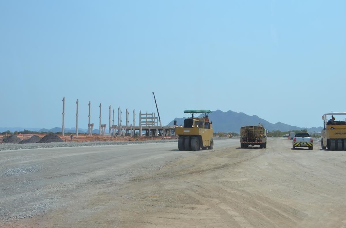 Obras no Aeroporto de Vitória serão concluídas em setembro de 2017, garante Infraero