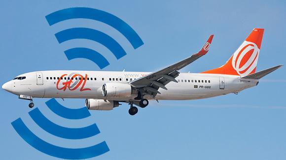 Companhia começa a cobrar pelo acesso a internet Wi-Fi a bordo de seus voos