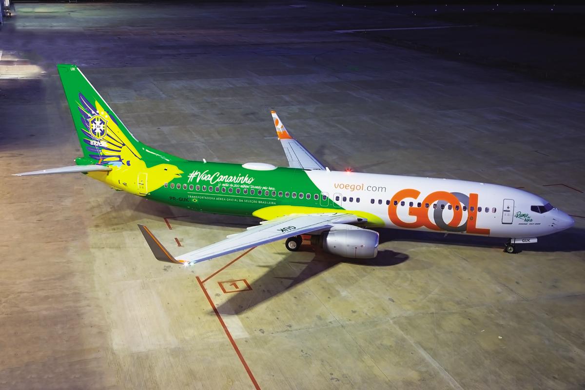 Promoção de passagens nos voos de Vitória para festejar a vitória da Seleção Brasileira