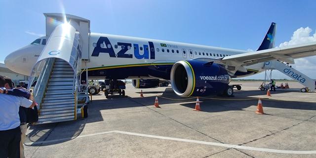 Companhia Azul começa a operar com jatos da Embraer em Cascavel