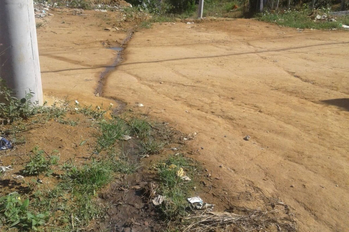 Falta de infraestrutura irrita moradores do bairro Palmeiras, na Serra