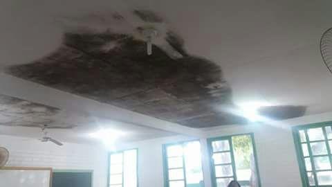 Moradores de comunidade de Praia Grande estão indignados com situação de escola