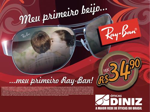 1ec6824a858ed Campanha Ray-Ban das Óticas Diniz – Já está sendo veiculada na TV e outras  mídias em todo o país