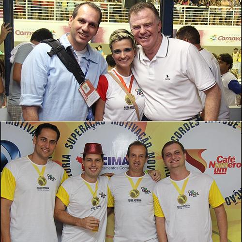 Rede Vitória recebe convidados no Camarote Olímpico - Mídia e ...