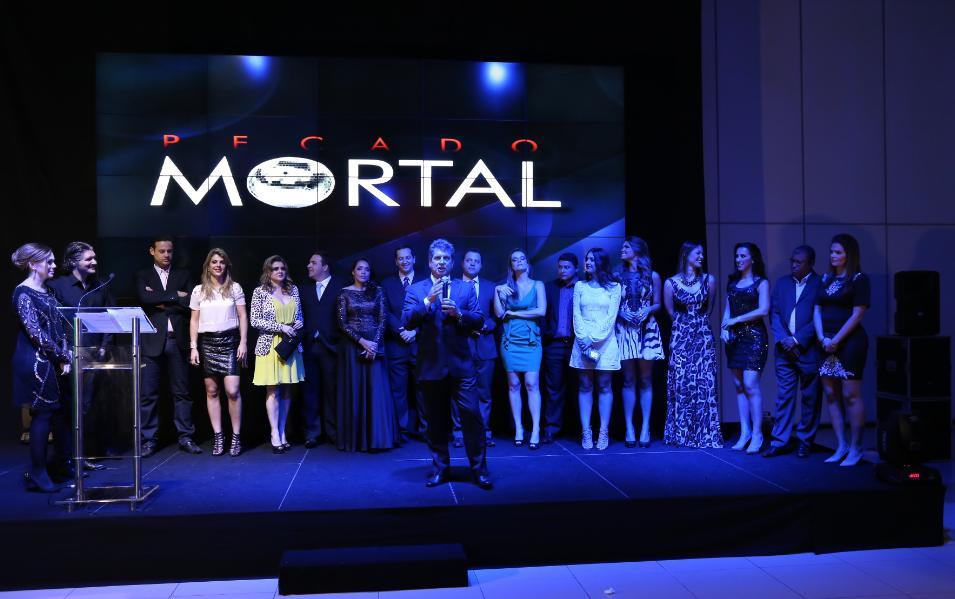 TV Vitória reúne convidados para lançamento de Pecado Mortal ...