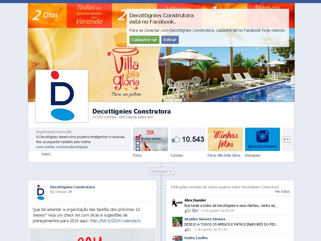 Decottignies Facebook