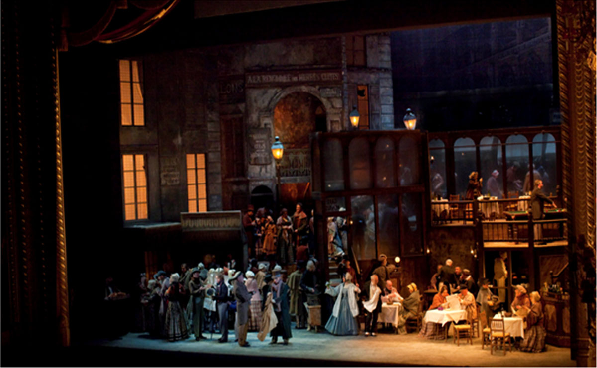 Opera La Bohème