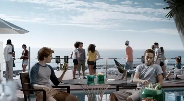 cena do filme com neymar para o guaraná
