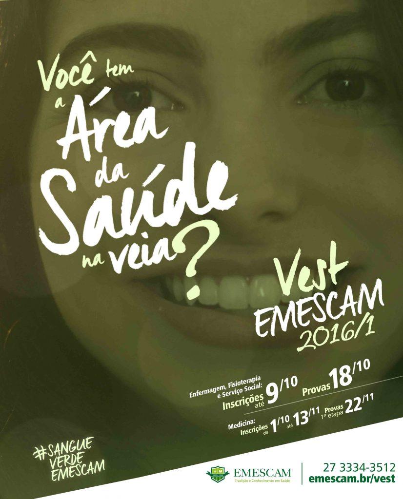 Anúncio - Vest Emescam 201601