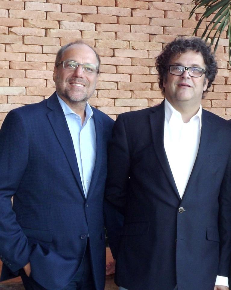 Alexis Pagliarini superintendente e Glaucio Binder presidente da Fenapro  bx