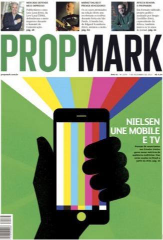 capa da edição de propmark com novo projeto gráfico