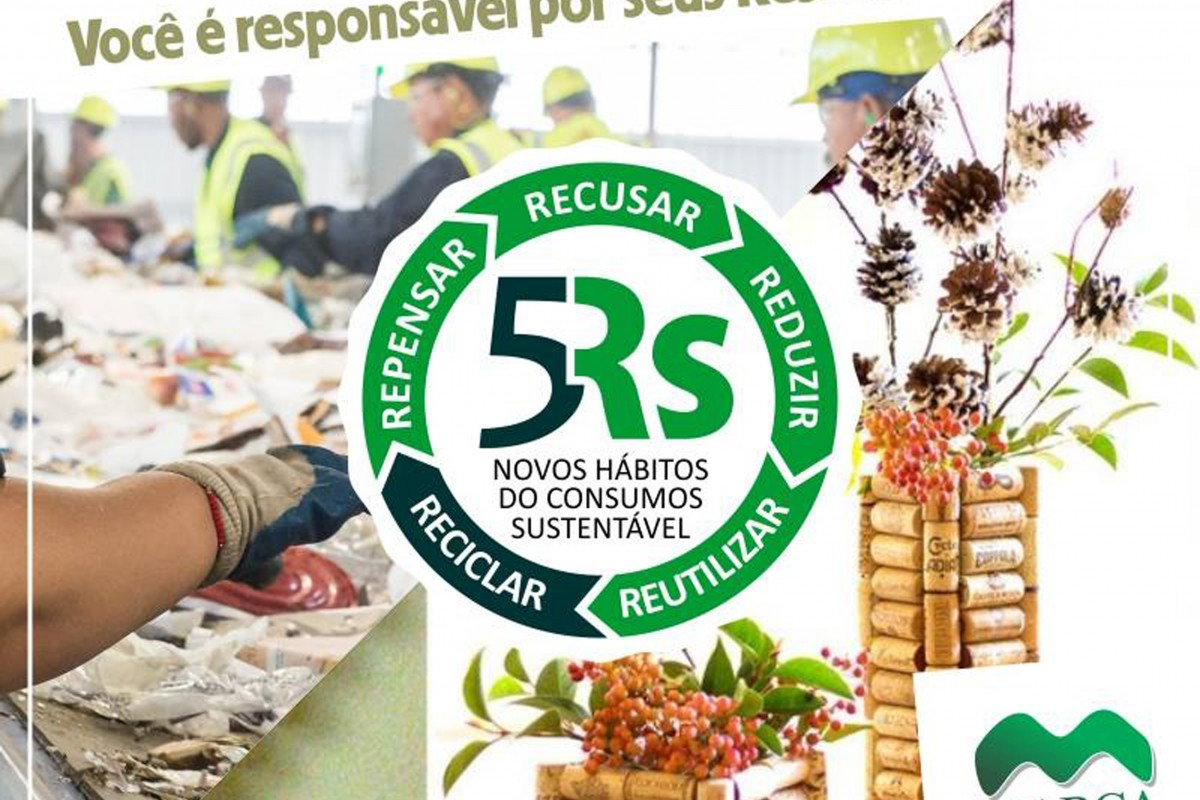 Campanha Marca Ambiental 5 Rs