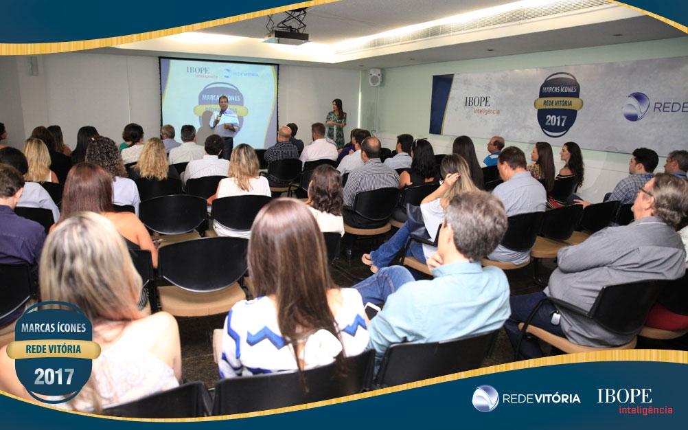 Rede Vitória apresenta a sexta edição do Prêmio Marcas Ícones 2017