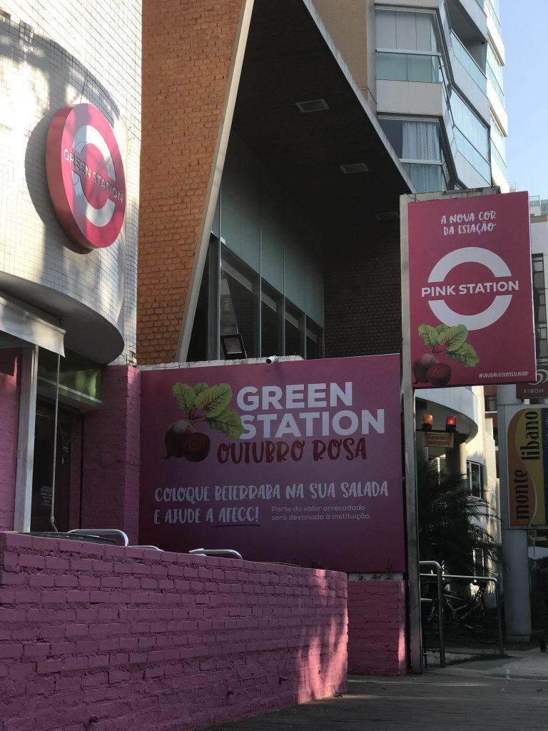 Fachada Pink Station