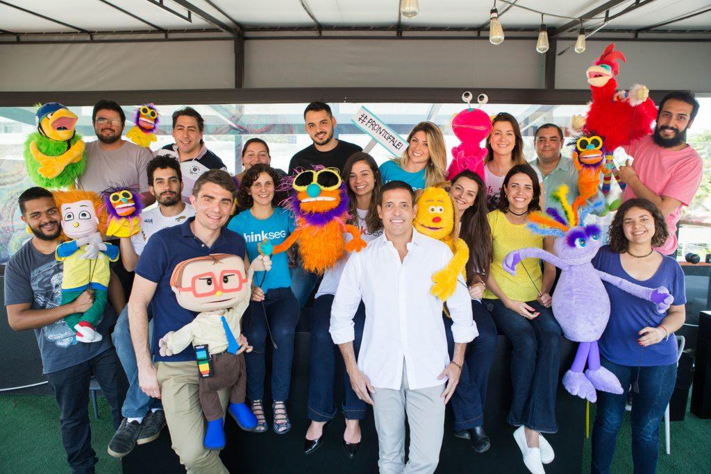 TQ SÃO PAULO 19.10.2017 THINKSEG Fotos dos bonecos promocionais, equipe e sócios da THINKSEG. FOTO TIAGO QUEIROZ / THINKSEG