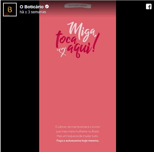 7273140ce1 Criativa e Salsa da Praia em campanha contra o câncer de mama ...