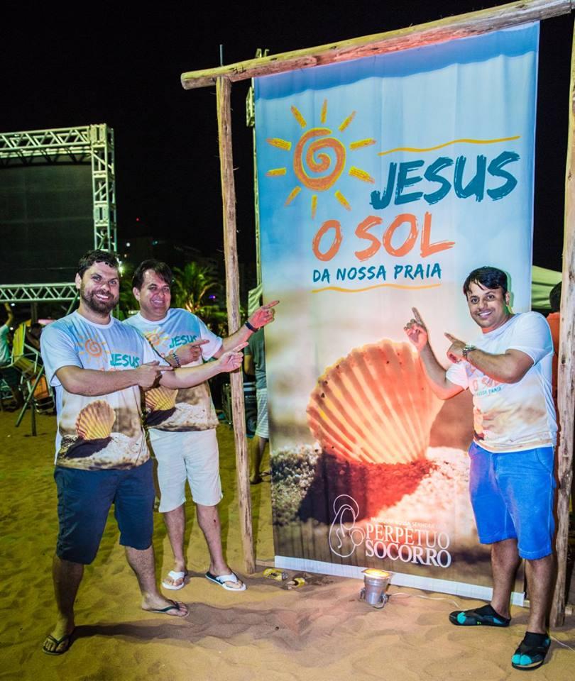 jesus sol da nossa praia