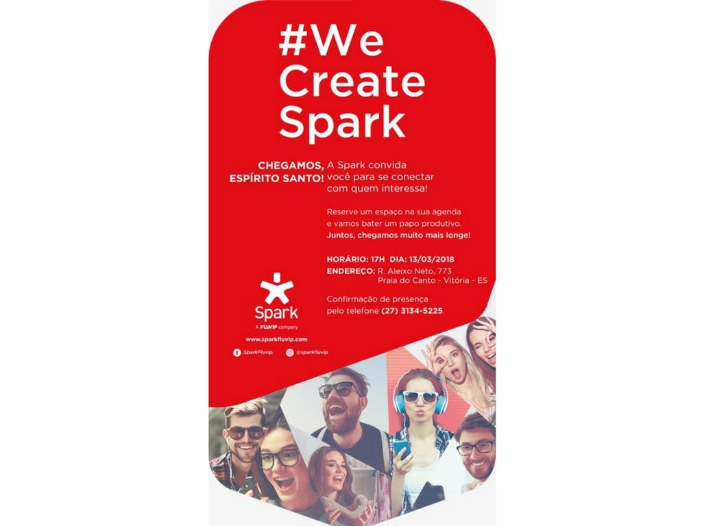 A Spark chega ao Espírito Santo e a Rede Vitória convida para se conectar