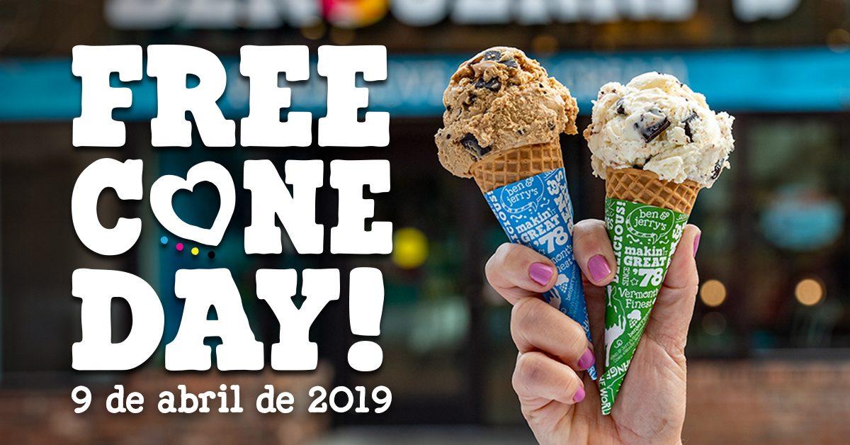 c2418a3de294 Free Cone Day: sorvetes Ben & Jerrys grátis no Shopping Praia da Costa