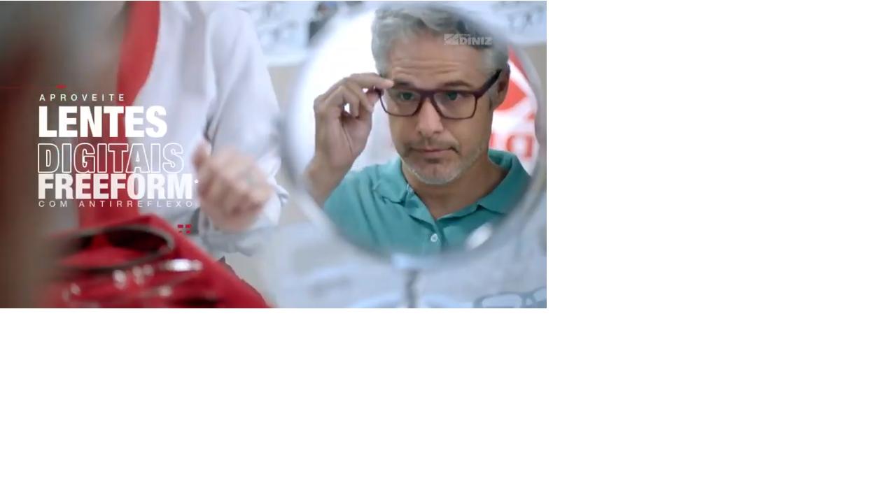"""e6fd661ff Filme destaca a modernidade dos laboratórios e toda a inovação das lentes  Nos filmes de 30"""" e 15"""", a produção das lentes são mostradas de forma  dinâmica, ..."""