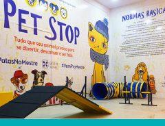 Pet Stop no Shopping Mestre Álvaro